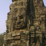 One side of the Bayon Temple