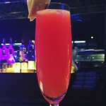 Zakura : made with vodka, ginger,orange, lime & pomegranate syrup ... Must Try