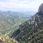 View from top of Montserrat