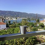 Morning cuppa on our balcony
