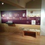 Underground floor Roman life exhibition.