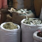 Samples at the spice market