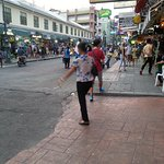 Khao San Road evening time