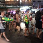 Khao San Road Songkran 2017