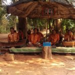 Musicians at the Banteay Seri perfomance