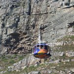 One of the two rotating cable cars - note they do not operate when the winds pick up