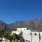 Table Mountain from the top of the Hop on Hop Bus