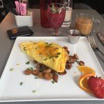 Denver Omelette and Smoothie