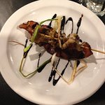 Bacon and Calamari w/ Balsamic Drizzle