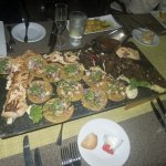 Our Bounty of fish prepared by Chef Nemes Jimenez at Restaurant Fragata