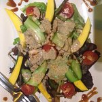 Amazing Chicken and Mango Salad!A must to try!!