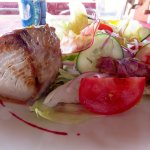 Grilled tuna is very good.