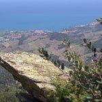 Au loin : Collioure