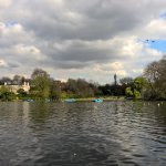 Post Office Tower from the boating lake!