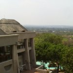 Zambezi River in the background taken from my balcony, dont forget your binoculars