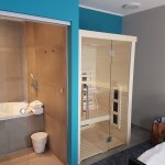 Suite bain bouillonnant et sauna