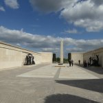 The impressive Armed Forces Memorial