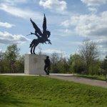 The Paratroop Regiment memorial