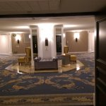 Hallway Concourse near elevators Paris LV