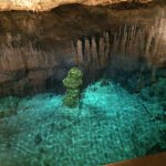 Crystal Caves water