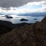 Vista lado poniente del lago Nahuel Huapi