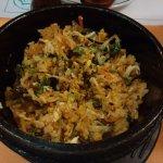 Bi Bim Bap, arroz
