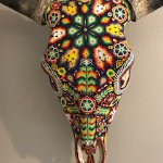Beaded skull from Authentica