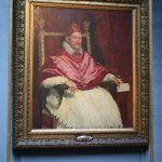 Pope Innocent by Velazquez