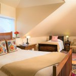 Room 136 - Recently renovated, this beautiful top floor room accommodates 3!
