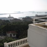View over Bay of Gibraltar from 2nd floor balcony