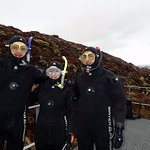 Me and my group ready to snorkel