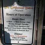Hours (Closed on Sundays)
