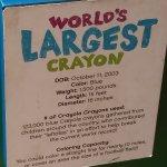 Full description of the Big Blue Crayon!