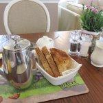 Coffee and Toast - Ty Croeso B&B - Wales (20/Apr/17).