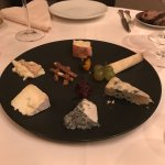 The cheese plate was delcious