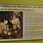 Photo de Navaho Code Talkers Exhibit