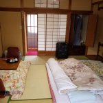 Room, with included Yukatas in closet