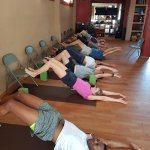 Gentle Stretching class Mon/Wed/Fri 10:15am
