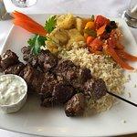 Beef Souvlaki Dinner
