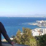 Vue sur la baie d'Alger à partir de l'esplanade de Notre Dame d'Afrique