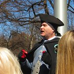 The guide from The Freedom Trail Foundation