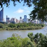 From cliffs of Kangaroo Point