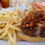 happy Hour burger