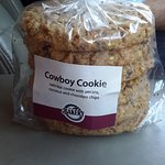 Don't leave without a bag of these cookies!