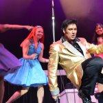 One of many costumes worn by Darren Lee - Elvis Tribute Artist.