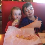 The kids loved it. Try the fried ice cream dessert!