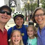 Happy bike tour