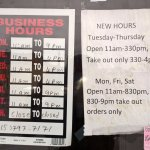 Business Hours.