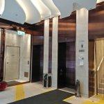 Hotel lift lobby