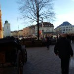 Old Town Market Square and Streets.